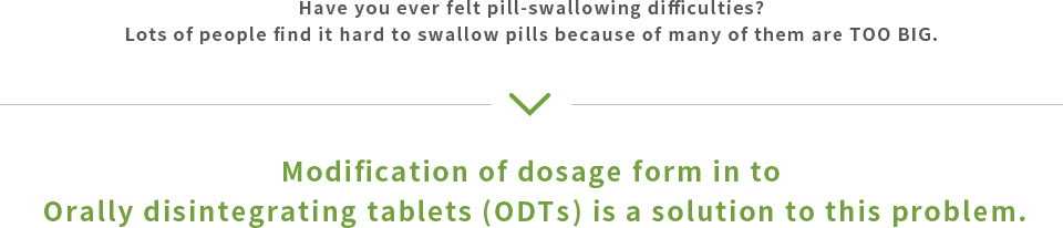 Have you ever felt pill-swallowing difficulties?Lots of people find it hard to swallow pills because of many of them are TOO BIG.
